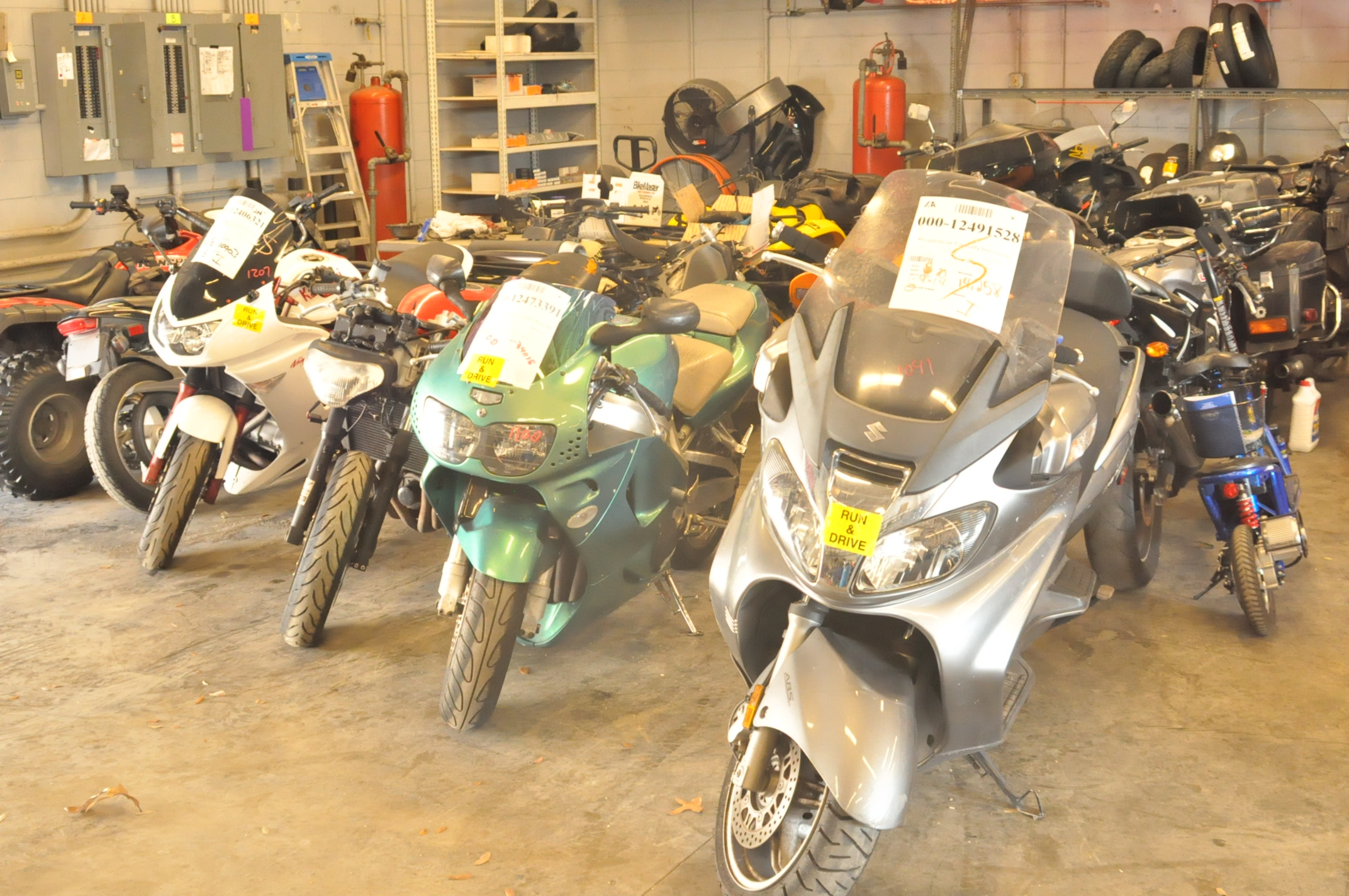 tampa motorcycle salvage yard