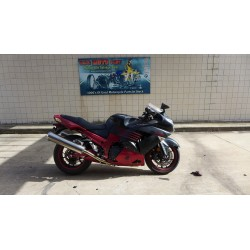 2008 KAWASAKI NINJA 1400 ZX12 ZX 14 FOR PARTS WITH GOOD ENGINE 15285 MILES