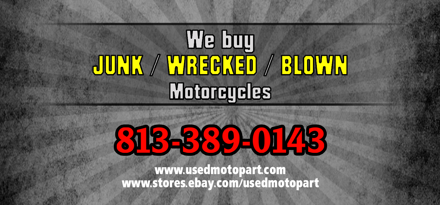 Sell Us Junk Motorcycle - Used Moto Part